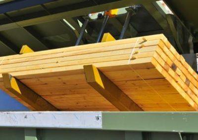 Traitement de rabotage du bois et de charpente